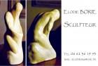 Cartes de visite pour Elodie Borie Sculpteur