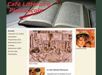 Conseil et refonte graphique du Café Littéraire Plaisançois