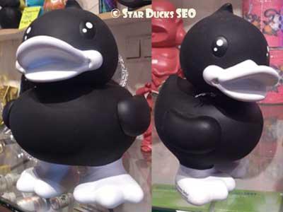 Duck déguisé en Panda ou Penguin pour le VLC2012