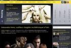 Refonte du site Alexandre Henry, salon de coiffure à Paris