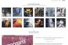 Refonte de site pour Mo Bantman, artiste peintre