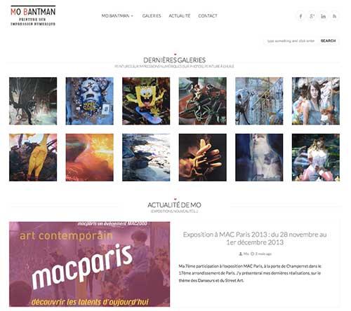 Refonte site Mo Bantman