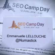 SEO Camp Day AIbi du 12 avril 2014 : j'y étais, je vous raconte !