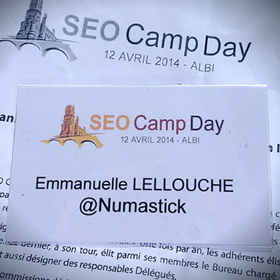 SEO Camp Day à Albi - Numastick
