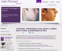 Refonte du site du cabinet d'orthodontie Paris 15